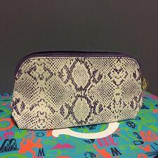 Estee Lauder Cosmetic Makeup Bag Zipper Travel Pouch