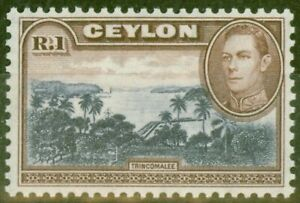 Ceylan-1944-1R-Bleu-Violet-amp-Chocolat-SG395a-V-F-MNH