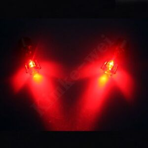 Image is loading 1-Pair-Red-Color-Light-Up-Led-Earrings- & 1 Pair Red Color Light Up Led Earrings New | eBay