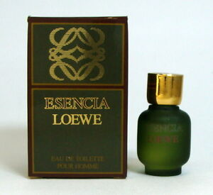ESENCIA-LOEWE-EAU-DE-TOILETTE-For-Men-3-ML-0-10-FL-OZ-Mini-perfume-vintage