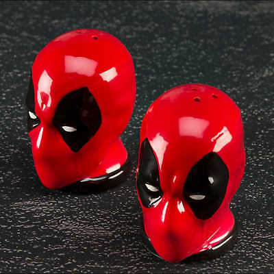 Marvel Deadpool Salt and Pepper Shakers