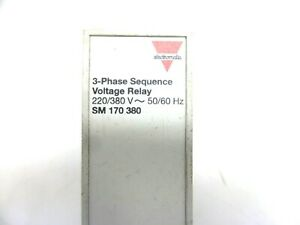 Electromatic-3-Phase-Sequence-Voltage-Relay-220-380-V-50-60-Hz-SM-170-380