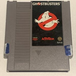 Ghostbusters NES (Nintendo Entertainment System 1988) AUTHENTIC Tested Cartridge
