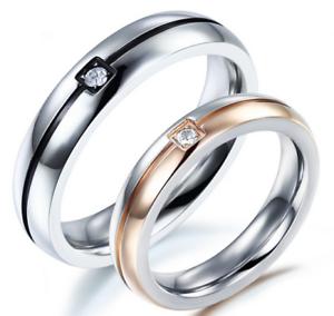 Anello-Coppia-Fedine-Fidanzamento-Fede-Fedi-Promessa-INCISIONI-Gratis-Nome-Data