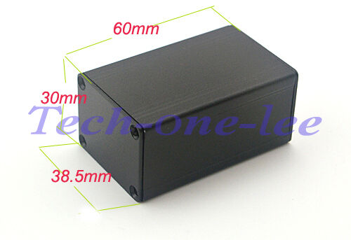 Caja de proyecto de aluminio 5 un placa de circuito impreso eléctrico Hágalo usted mismo gabinete caso Junction 60x38.5x30