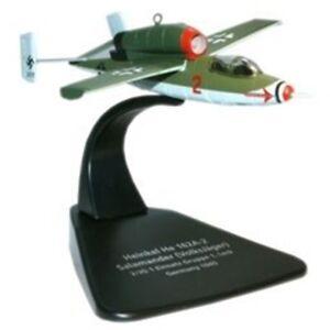 Oxford-Diecast-Heinkel-He162-1-72-Scale-Diecast-Model-Aviation-172-German