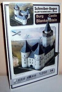 * KARTONMODELLBAU Burg BLANKENSTEIN SCHREIBER-BOGEN Nr. 667 für H0 HO - Würzburg, Deutschland - * KARTONMODELLBAU Burg BLANKENSTEIN SCHREIBER-BOGEN Nr. 667 für H0 HO - Würzburg, Deutschland