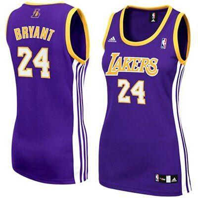 Los Angeles Lakers Kobe Bryant #24 Adidas Women's NBA 4Her Fashion ...