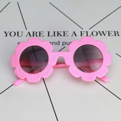Fashion Baby Kids Boys Girls Flower Sunglasses Toddler Glasses Eyewear