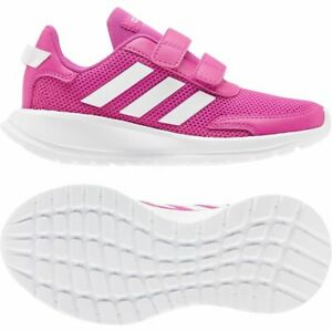Details about Adidas Kids Girls Training Running Tensor Sport Shoes Trainers Hook and Loop