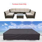 Waterproof  Outdoor Furniture Covers Garden Patio Sofa Wicker Rattan Rain Cover