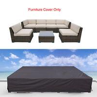 Waterproof Outdoor Furniture Covers Garden Patio Sofa Wicker Rattan Rain Cover