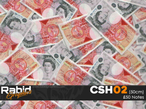£50 Notes HydroDipping Hydrographics Dip Kit Home Starter Kit CSH02