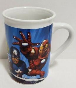 Marvel Mug Avengers Coffee AmericaIron 2016 Rare ThorCaptain New Details About ManHulk gY7ybf6