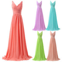 Womens Formal Bridesmaid Dress Evening Cocktail Gown Party Prom Ball Wedding New
