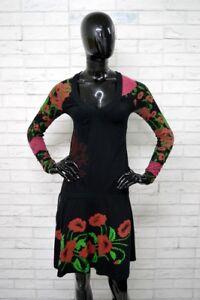 Vestito-Donna-DESIGUAL-Taglia-XS-Abito-Dress-Tubino-Cotone-PARI-AL-NUOVO