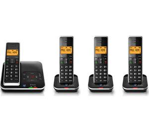 BT-XENON-1500-QUAD-DIGITAL-CORDLESS-HOME-TELEPHONE-amp-ANSWERING-MACHINE