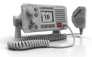 LOWRANCE LINK-6 MARINE UKW FUNKGERÄT DSC VHF RADIO SET HANDFUNKGERÄT WEIß NEU