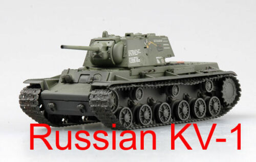 August 1942 #36288 Easy Model 1//72 Russian Army KV-1 Heavy Tank Moscow
