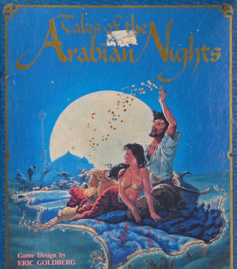 Tales of the Arabian Nights, Eric oroberg, West End Games, Unpunched, Extras