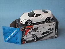 Matchbox Alfa Romeo 4C White Body Boxed Toy Model Italian Sports Car 65mm Boxed