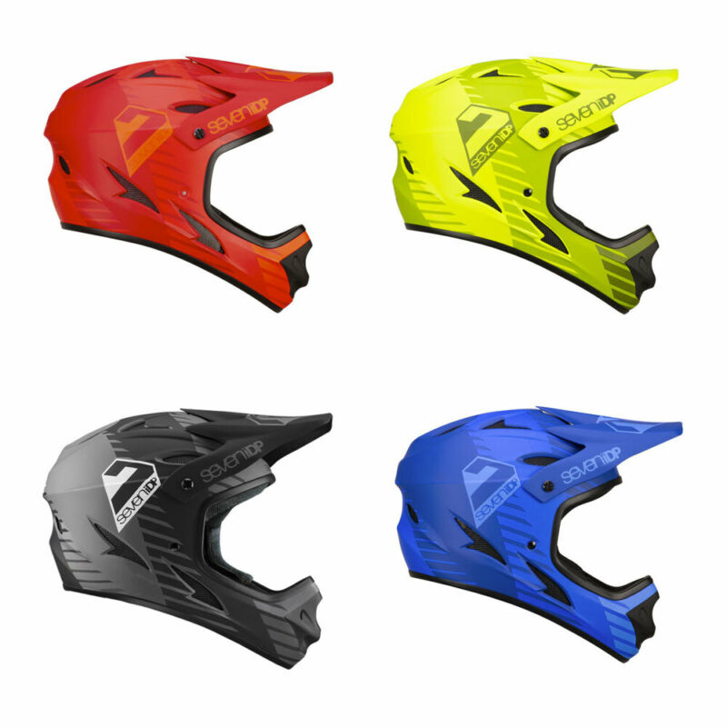 7 IDP M1 Tattica CASCO 2019-Full Face Mountain Bike BMX MTB SETTE Protezione