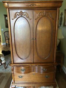 Furniture Victorian Sampler Armoire