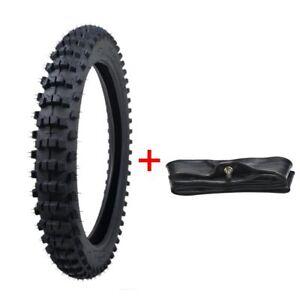 70-100-17-2-75-17-039-039-Knobby-Front-Tyre-amp-Tire-Rubber-Tube-For-Pit-Bike-Motocross