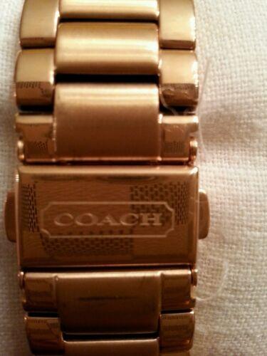 Coach Tristen rose gold tone watch