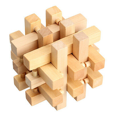 Chinese Traditional Wooden Adult Children Education Toy Intelligence Puzzle Toy