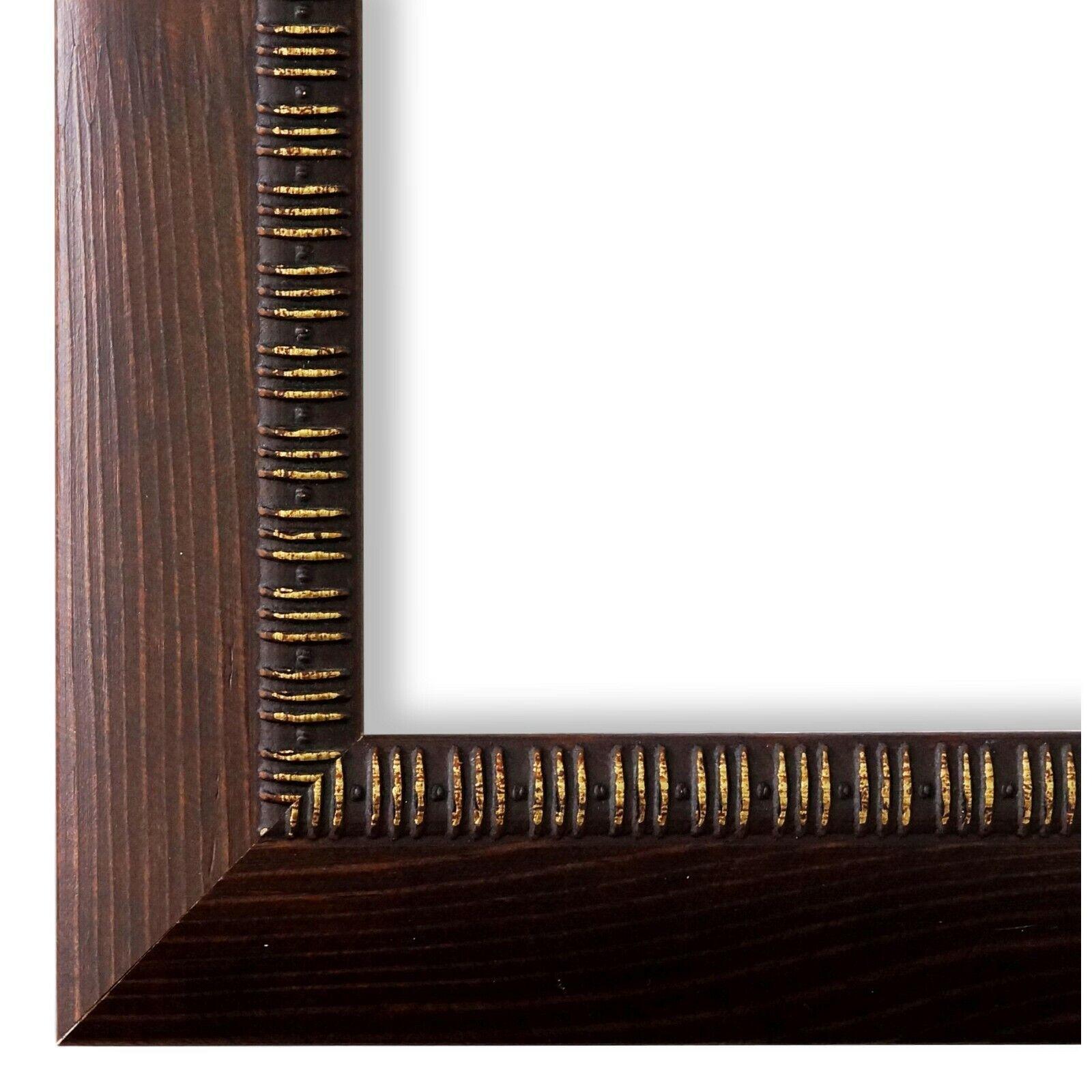 Bilderrahmen Turin Braun - DIN A0 DIN A1 DIN A2 DIN A3 DIN A4 DIN A5
