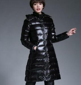 Shiny Black Parka