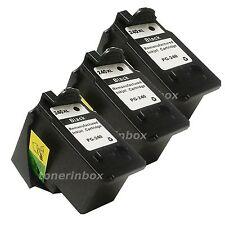 3 Pack PG240XL PG-240XL HY Black Ink Cartridge for Canon PIXMA MX459 MX472 MX479
