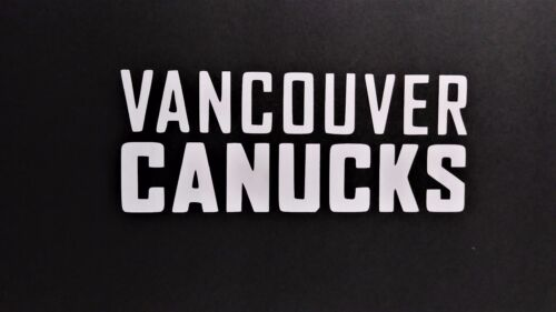 Vancouver Canucks Vinyl Decal for laptop windows wall car boat