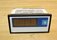 Digital Panel Meter, DC Voltage, 0-200VDC, 4-Digit