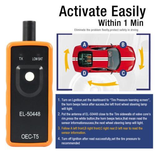 EL-50448 TPMS Reset Tool Relearn Auto Tire Pressure Sensor for GM Vehicle MA1482