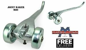 Marshalltown Chariot Brique Joint Racleur Joint de Mortier Raker M89 made in USA