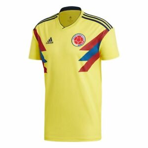 adidas Colombia FIFA WC World Cup 2018 Home Soccer Jersey Yellow ... 0fd50060a
