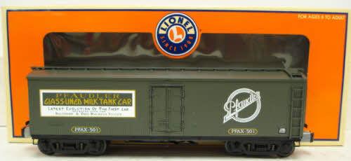 O-gauge lionel - pfaudler milch - auto