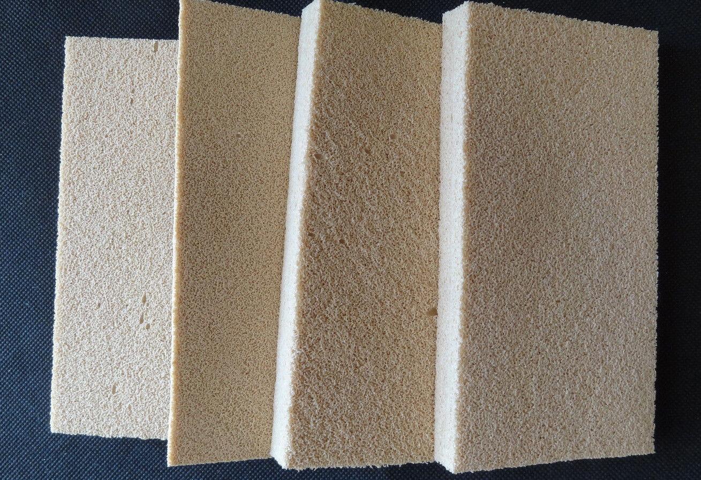 Case of 96   Rubber Smoke Sponge for Fire Smoke Restoration Sz. 3 x 6 x 3 4