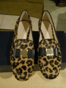 da17c5fda95 Cole Haan Women s Tali Bow Loafer in Ocelot Leopard Calf Hair Rt ...