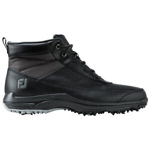 FootJoy-Mens-Winter-Golf-Boots-New-FJ-Waterproof-Spiked-Leather-Thermal-Shoes