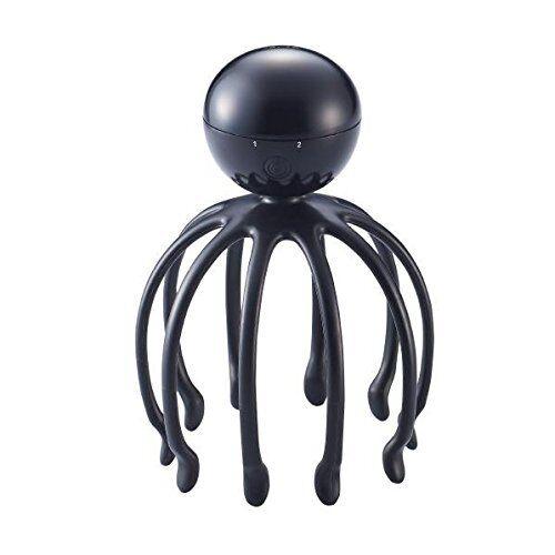 Sonic Head Spa massager ALILAN octopus Alien Japan for women Black