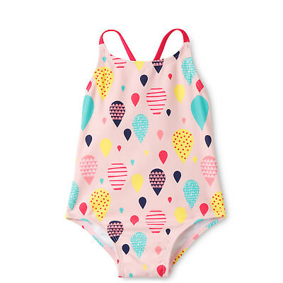 NEW Sprout Cross Strap One Piece Lt Pink
