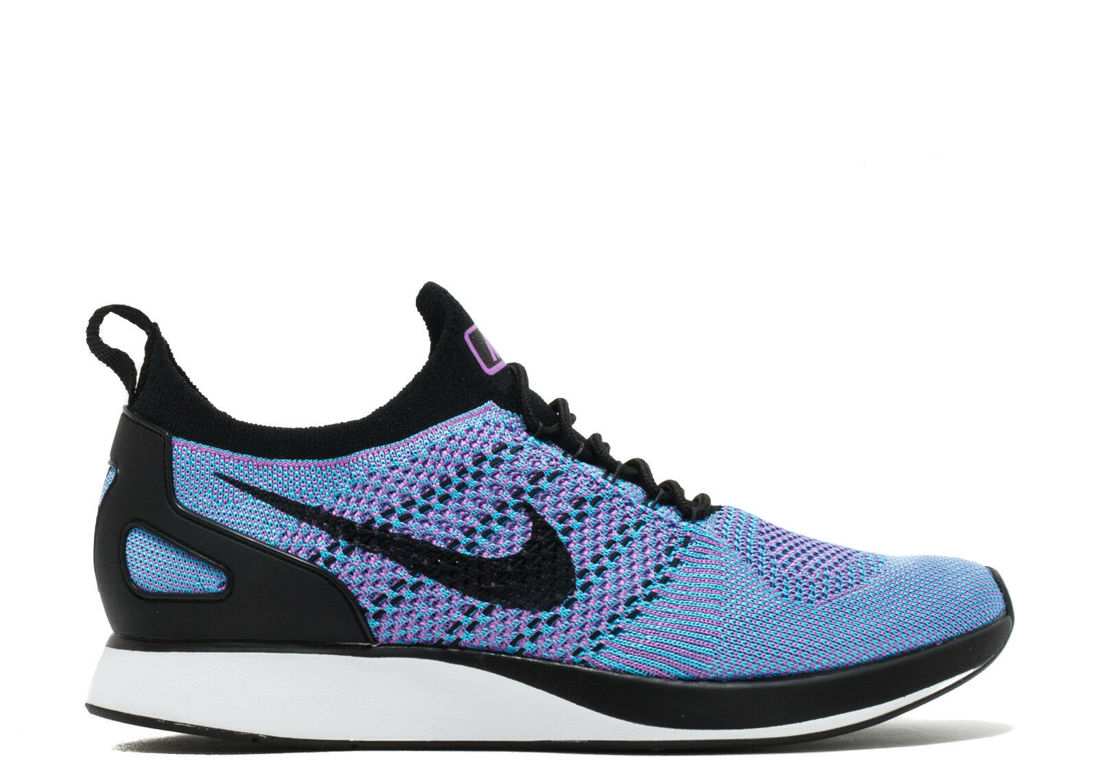 Men's Nike Air Zoom Mariah Flyknit Racer Running shoes - 14 (BRIGHT purple BLACK