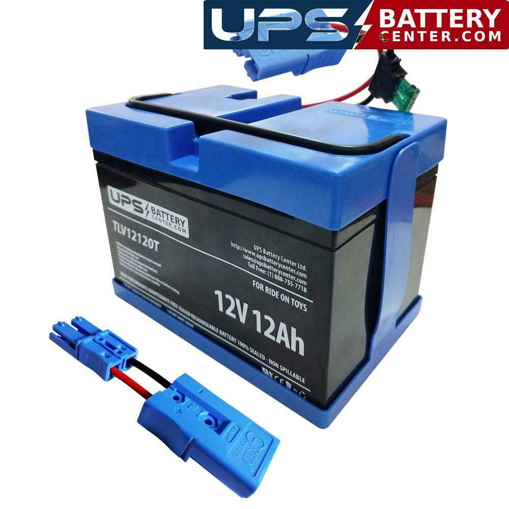12 Volt Compatible Replacement Battery for Kid Trax