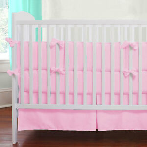 baby crib skirt box pleat skirt solid 24 colors
