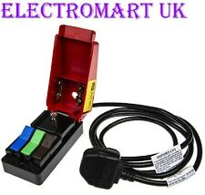 QUICKTEST MAINS CONNECTOR TEST BLOCK CLIFF COMPONENTS UK MADE 1.5M CABLE