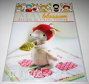 APPLE STRUDEL SHREW with MINI QUILT Sewing Pattern CUTE MOUSE