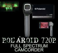 Polaroid 720p Hd Camcorder Full Spectrum Ghost Hunting Equipment